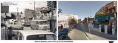 Riera Blanca, año 1970 y en la actualidad
