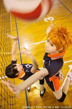 Kageyama and Hinata