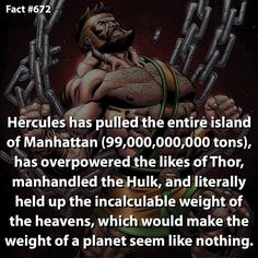 Would you consider Hercules as one of the strongest beings in Marvel? by marvelousfacts