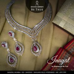 Let the glory be yours - with some finest creations offered to you by Ghanasingh Be True Catch us at Fashion Yatra : featuring Inayat by Ghanasingh be True ! 2 days to go ! To know more , contact - Bandra - 022- 26435500 / 01 / 02 | Hyderabad - 040 - 69911999 #LuxuryWears #Jewellery #Grace #Timeless #GhanasinghBeTrue #GBT #Earrings