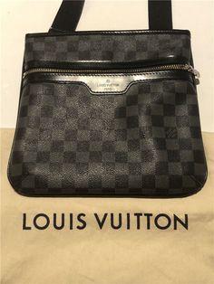 0e2ae9b82274 Extra Off Coupon So Cheap Louis Vuitton LV Bag Damier Graphite Thomas  Messenger Canvas Crossbody