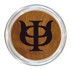 C1987 Phi Kappa Psi Wood Grain Coaster $24.00 #PhiKappaPsi #PhiPsi