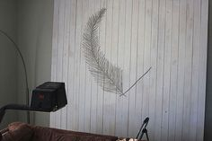extra large pallet art, wall decor
