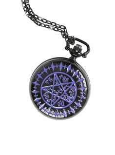 Black Butler Tetragrammaton Pocket Watch. NEED.