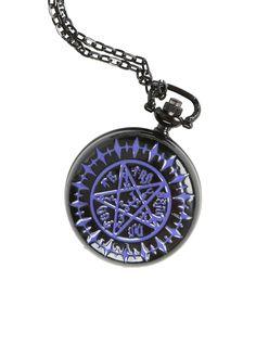 Black Butler Tetragrammaton Pocket Watch. NEED.