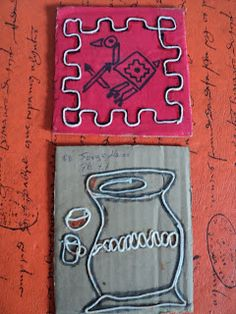 Con 7º TM y 7º TT         trabajamos línea, con hilos      sobre cartones      sobre los pueblos originarios                             ... Stencils, Collage, Deco, Blog, Kid Art, Geography, Art Lessons For Kids, Art Teachers, Science Nature
