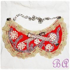 Collar Babero vintage  http://brochesasturianos.blogspot.com.es/