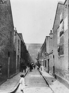 An poster sized print, approx mm) (other products available) - circa Children playing in a street in London& Limehouse. (Photo by Keystone/Getty Images) - Image supplied by Fine Art Storehouse - poster sized print mm) made in the UK Victorian London, Vintage London, Old London, 1920 London, Victorian Life, London Art, Old Photos, Vintage Photos, London History