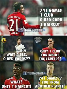 Philipp Lahm💪🔥 MJJ Funny Football Memes, Football Troll, Funny Sports Memes, Football Quotes, Sports Humor, Football Soccer, Funny Memes, Football Tournament, Best Football Players