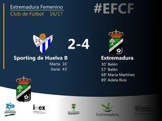 2da DIVISIÓN | Jornada 10  Sporting de Huelva B 2-4 Extremadura FCF  Una gran segunda parte da los tres puntos al Extremadura   #futfem #EFCF #Extremadura