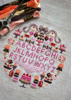 Sugar is Sweet Sampler PDF Cross Stitch Pattern - Frosted Pumpkin Stitchery