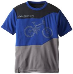 Boys' Cycling Jerseys - Zoic Boys CT Cycling Jersey *** Check out this great product.