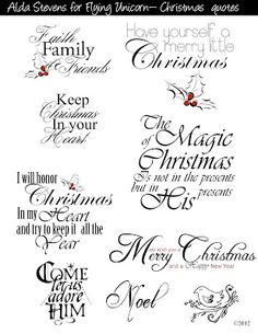 Christmas greeting card verses and sentiments diy gifts flying unicorn christmas tags with digi goodies christmas sayings for cardschristian m4hsunfo