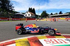 Sebastian Vettel (GER) Red Bull Racing RB8.  Formula One World Championship, Rd12, Belgian Grand Prix, Preparations, Spa-Francorchamps, Belgium, Sunday, 2 September 2012