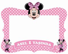 Minnie mouse frame / photo booth prop by PartyAngelsss on Etsy