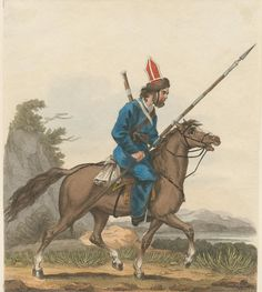 Don Cossack. (1813) By Orlovsky, Aleksandr. From the Anne S.K. Brown Military Collection originally.