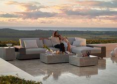 Outdoor Fabric, Outdoor Sofa, Outdoor Furniture, Outdoor Decor, Art Of Living, Living Spaces, King Furniture, Sofa King, Sunbrella Fabric
