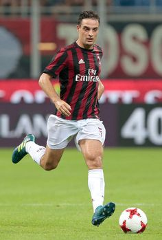 Giacomo Bonaventura of AC Milan in action during the UEFA Europa League Third Qualifying Round Second Leg match between AC Milan and CSU Craiova at Stadio Giuseppe Meazza on August 3, 2017 in Milan, Italy.