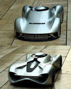 Mercedes-Benz C11R - autonomous sports car project by Wootaek Koh @wootaek.koh #cardesign #car #design #cncmilling #3dprinting #mercedes #mercedesbenz