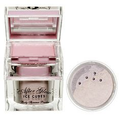 An icy, creamy eyeshadow and shimmer powder in a cute little cube. Create the most glamorous, coordinated shimmer look this side of the red carpet. Makeup Brush Uses, Creamy Eyeshadow, Ice Cubes, Glow, Face, The Face, Sparkle, Faces, Facial