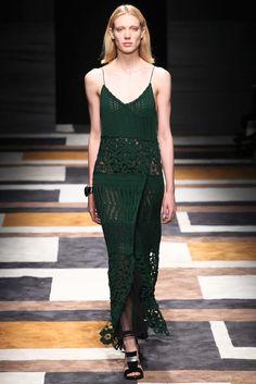 Salvatore Ferragamo Fall 2015 Ready-to-Wear Fashion Show - Annely Bouma