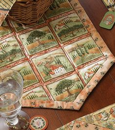 Tuscany Table Runner : quilting & patchwork :  Shop | Joann.com