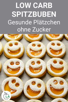 Spitzbuben Rezept ohne Zucker – Low Carb Kekse This kid boy recipe is made without sugar and is low carb. Perfect if you want to bake healthy, sugar-free cookies for Christmas. Vegan Baking, Healthy Baking, Food N, Food And Drink, Low Carb Recipes, Healthy Recipes, Sugar Free Cookies, Low Carb Sweets, High Protein Low Carb