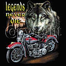 Indian Motorcycle T Shirt American Legend Biker Tee
