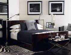 Ralph Lauren Home | Modern Hollywood Bed