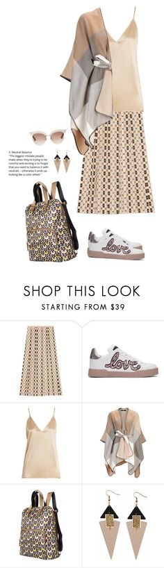 """""""OOTD 2/21/2018"""" by jennifertrimble ❤ liked on Polyvore featuring Gucci, Dolce&Gabbana, Raey, Orla Kiely and Toolally"""