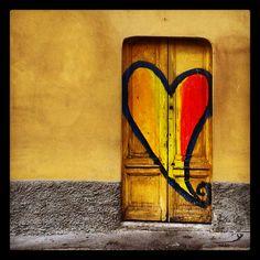 La porta del cuore #cuore  #porta  #heart #door