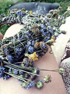 floral headpiece, diy, handmade, flowers
