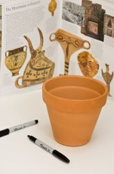 Middle School Painting & Drawing Activities: Make Art Like the Ancient Greeks: Black-Figure Vase Painting
