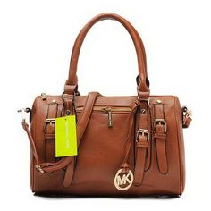 Michael Kors Grayson Large Brown Satchels Outlet