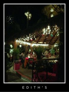 Edith's, Cabo San Lucas, Mexico.  Favorite place for dinner with the Diercks family.