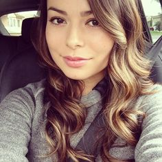 Miranda Cosgrove even though I haven't seen her in a long time on a TV show after ICarly was canceled I still really want to meet her because she is probably to hang out with and she is so beautiful.
