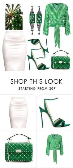 """""""Favorite Skirt"""" by daisy-schilder ❤ liked on Polyvore featuring Casadei and Valentino"""