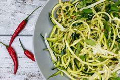 [Low Carb] Zucchini-Spaghetti aglio e olio