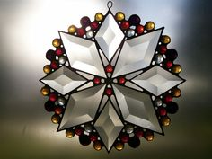 Pictures of suncatchers   Colorburst Stained Glass Beveled Suncatcher « Stone Canyon Glass