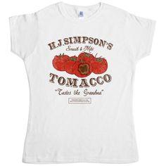 Tomacco T Shirt - White / 6-8