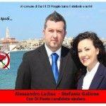 Candidati al Comune di Bari, con il santino oggi sposi