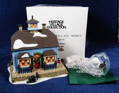 DEPARTMENT 56 Chowder House New England Village Heritage Coll Orig Box 56571 #Department56