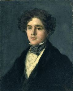 Portrait of Mariano Goya - (a.a Portrait of the artist's grandson Mariano Goya wearing a black coat and black stock) Francisco de Goya y Lucientes Francisco Goya, Spanish Painters, Spanish Artists, Portrait Male, Male Portraits, Museums In Dallas, Goya Paintings, Classic Paintings, First Art