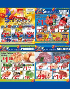 Celebrate 25 years of Savings with Solomon's Super Center!