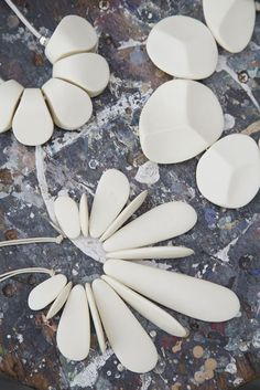 Designers Louise Olsen and Stephen Ormandy owners of Dinosaur Designs, resin jewelry ollection-2013-Safari