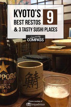 Kyoto, Japan, Its 9 Best Restaurants & 3 Must-Eat Sushi Places. See the foodie hotspots in Asia's most romantic culture travel destination. Romantic Vacations, Romantic Getaway, Romantic Travel, Paris Travel, Japan Travel, Flights To Paris, Restaurant Guide, Visit Japan, Travel Deals