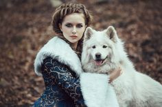 The Woman On Winter Walk With A Dog Stock Photo - Image of freeze, blue: 52658310 Foto Fantasy, Fantasy Art, Dog Stock Photo, Winter Walk, Blue Coats, Hurley, Classic Hollywood, Female Characters, Character Inspiration