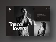 Tattoo Lovers Portal Website Design by TIB Digital on Dribbble tattoo website - Tattoos And Body Art Black Tattoos, Body Art Tattoos, Portal Website, Tattoo Website, Tattoo Posters, Website Design Inspiration, Shopping Websites, Tattoo Shop, Tattoo Studio