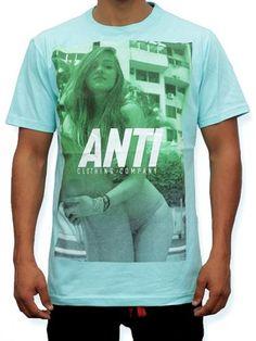 Antifashion, Playera Básica ANTI Teen, Playera básica con gráfico en serigrafía   via @outfitstation