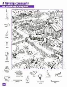 Worksheets For Kids, Activities For Kids, Hidden Pictures Printables, Find The Hidden Objects, Find Objects, Hidden Picture Puzzles, Hidden Picture Games, Hidden Object Puzzles, Hidden Images